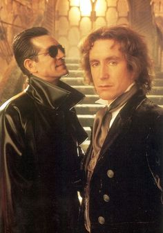 The 8th Doctor and The Master.