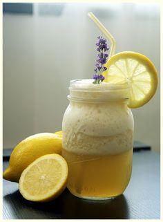 vodka, lemonade, and lavender honey.