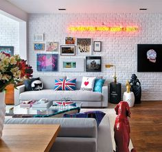 60 Stylish Brick Walls Ideas For A Living Room Part 80
