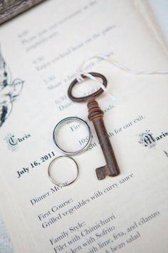 BHLDN Proprietor's Keys; Photo by Love Me Do Photography #BHLDN #key #ring #wedding #nuptials