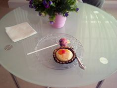 sweet cupcakes and choco ball