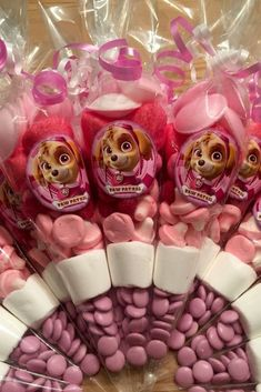 Throw an exceptional get-together for your children's birthday party with these 7 fascinating paw patrol party ideas. The thoughts must be convenient to those who become the true fans of Paw Patrol show. Bolo Do Paw Patrol, Girl Paw Patrol Party, Paw Patrol Party Favors, Paw Patrol Birthday Theme, Skye Paw Patrol Cake, Paw Patrol Decorations, Sweet Cones, 4th Birthday Parties, 3rd Birthday