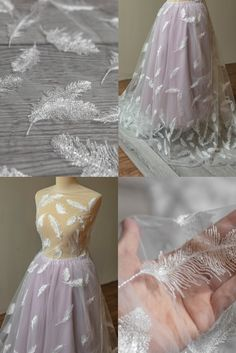 Beaded Wedding Gowns, Wedding Lace, Wedding Fabric, Lace Weddings, Wedding Dresses, Lace Fabric, Floral Lace, Cool Designs, Sequins