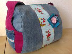 Zylindertasche von hinten #frühstückbeiemma  #farbenmix  #taschenspieler3sewalong Taschenspieler
