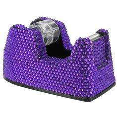 Purple Bling Tape Dispenser | Shop Hobby Lobby  - gotta love that purple!