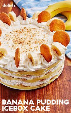 Homemade Desserts, Frozen Desserts, Summer Desserts, Easy Desserts, Delicious Desserts, Yummy Food, Banana Recipes, Fruit Recipes, Sweet Recipes