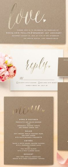Yay! 15% off ALL Wedding Orders at @minted with code: SUMMERWED. Ends, 6/16! http://www.theperfectpalette.com/2015/05/your-wedding-style-from-start-to-finish.html