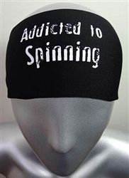 Addicted to Spinning head band   great for real spin addicts!!!!