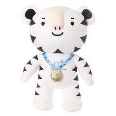 Winter Olympics 2018 Pyeongchang Korea Soohorang Mascot Gold Medal Doll Limited #DreamToy