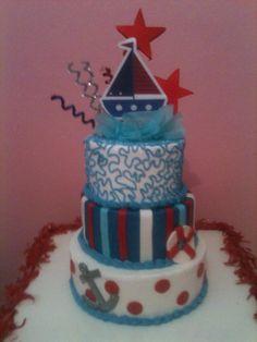 Sail cake