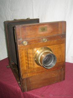 Cámara de fotos de fuelle, Siglo XIX