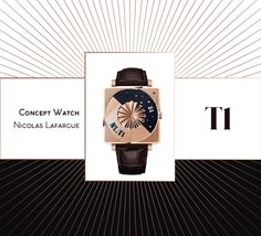 T1 • Concept horloger Nicolas Lafargue