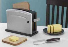 KidKraft Espressofarbenes Toaster-Set