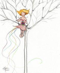 Knitting Colors Knitter's Card Set Rainbow Yarn by moonhouseart Knitting Quotes, Knitting Humor, Knit Or Crochet, Bead Crochet, Knit Art, Yarn Bombing, Love Illustration, Illustrations, Belle Photo