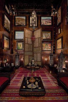Let's Build a Home - Serge Lutens'Marrakech lair (via @Janaína Pimentel De Assis)