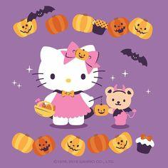 Source: via hellokitty_kr(ig). Hello Kitty Halloween, Kawaii Halloween, Halloween 2019, Happy Halloween, Sanrio Danshi, Hello Kitty Photos, Anime Rules, Friends Wallpaper, Sanrio Hello Kitty