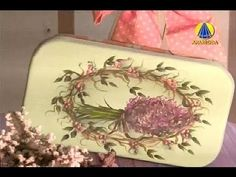 Tudo Artesanal   Pintura Gestual de Lavanda em Marmita por Diná Rocha - 03 de…