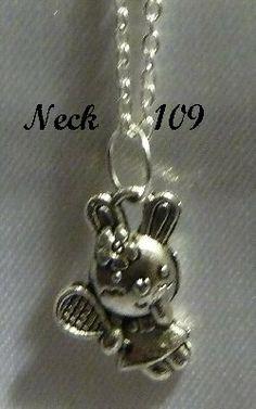 Necklace Sport Bunny #Neck109