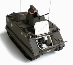 Tamiya's 1/35 scale M 113 Armored Personnel Carrier.