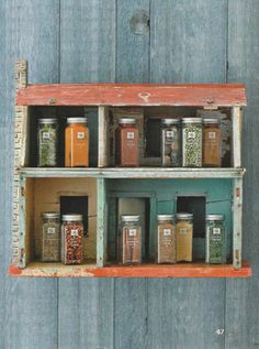 doll house for spices