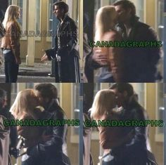 WE GET ANOTHER CS KISS IN SEASON 4! Captain Swan, Once Upon A Time, OUAT, Emma Swan, Captain Hook, Killian Jones, Season 4