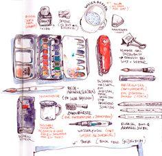Wasserfarbe für Gestalter – Workshop mit Felix Scheinberger