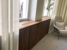 Interior Walls, Home Interior, Interior Architecture, Interior Decorating, Interior Design, Living Tv, Home Living Room, Modern Radiator Cover, Home Radiators