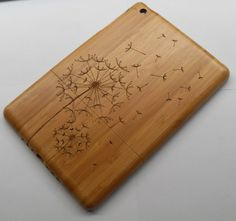dandelion bamboo wooden hard case cover for #ipad 2 34/ #ipad air/ #ipad mini 1/2/3 from $29.98