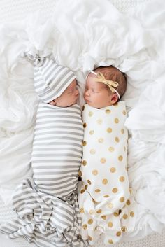 Newborn Boy + Girl Twins Newborn Photographer B Couture Photography