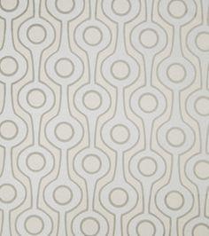 Home Decor Print Fabric- Eaton Square Continental-Grey Geometric & home decor print fabric at Joann.com