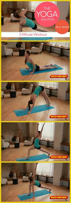 [FITNESS VIDEO ALERT] - 5-Minute Yoga Workout!