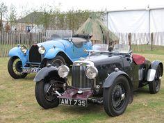 Aston Martin and Bugatti