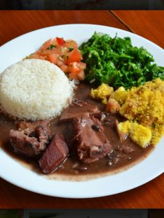 Brazilian food feijoada... Need to make this sometime soon!