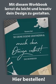 Du bist Selbstständig, Blogger oder hast einfach Lust dein Design selbst zu machen?  Mit diesem Workbook lernst du leicht und kreativ dein Design zu gestalten.  In den einzelnen Kapiteln zeige ich dir was du für dein Design brauchst, wie du deine Farben, Schriftarten, Bilder und Formen finden kannst und wie du daraus ein wunderschönes Design gestaltest. Es wird dich und dein Business / Blog etc. so zeigen, dass du dich wohl damit fühlst und es gerne anderen zeigst.