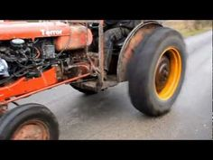 If you like tractors you may get a kick out of what this Swedish farmer did to one of his tractors