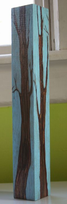 reclaimed wood art- this would be cool as a coat rack