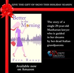 #BetterInTheMorningBook getting in the spirit 🎅 In the spirit indeed 😉  Happy #WriterWednesday! #HappyHolidays! Happy #reading!