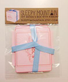 DIY Mendl's Box The Grand Budapest Hotel Gift by SleepyMountain