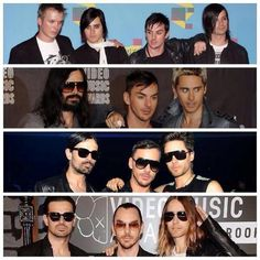 30 Seconds to Mars 2006-2013 VMA
