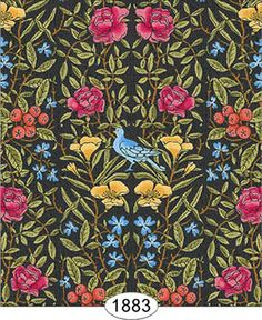 """""""More than anyone, textile designer William Morris influenced the swirling graphic style that would eventually become the Arts & Crafts move. Textile Patterns, Textile Prints, Textiles, Magic Eye Pictures, Victorian Wallpaper, Arts And Crafts Movement, William Morris, Botanical Prints, Blue Bird"""