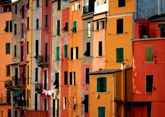Royalty-free Image: Row Houses Portovenere Italy