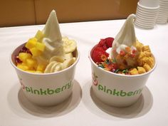 frozen yogurt... pinkberry for sure! Now I want some