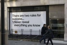 The Two Rules Of Success [Pic] | I Am Bored