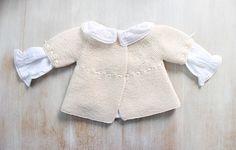 Ravelry: 31 / Baby Brassière pattern by Florence Merlin