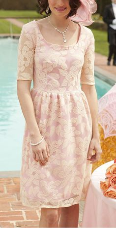Bubblegum Pink Cherish You Dress. I like the dress, but not sure about the color