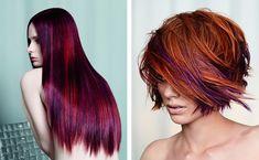 purple red hair - Busca de Google