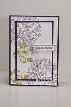 Stampin' Pals: Floral Fantasy CTS#114 CTD333