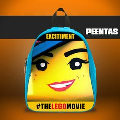 The Lego Wildstyle -  Design variations School Bag