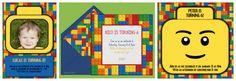 Lego Party Invitations Lego Birthday Online Invitations