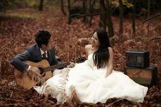 Garry & Van | Autumn inspired post wedding shoot